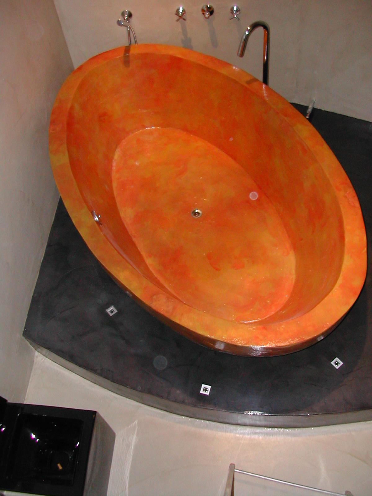 Vasca da bagno in cemento stefanopezziafornero - Vasca da bagno in cemento ...